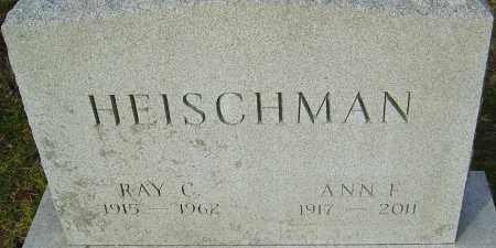 HEISCHMAN, ANN - Franklin County, Ohio | ANN HEISCHMAN - Ohio Gravestone Photos