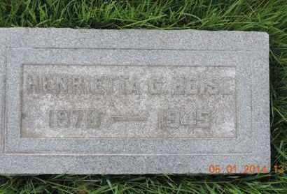 HEISE, HENRIELLA - Franklin County, Ohio | HENRIELLA HEISE - Ohio Gravestone Photos