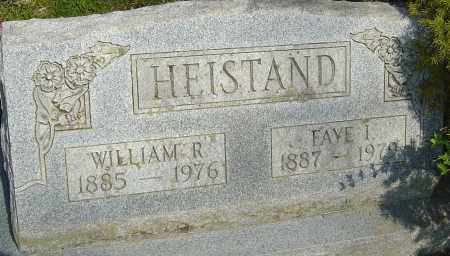 HEISTAND, WILLIAM - Franklin County, Ohio | WILLIAM HEISTAND - Ohio Gravestone Photos