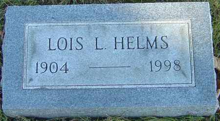 HELMS, LOIS - Franklin County, Ohio | LOIS HELMS - Ohio Gravestone Photos