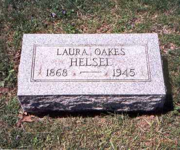 HELSEL, LAURA OAKES - Franklin County, Ohio | LAURA OAKES HELSEL - Ohio Gravestone Photos