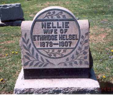 HELSEL, NELLIE - Franklin County, Ohio | NELLIE HELSEL - Ohio Gravestone Photos