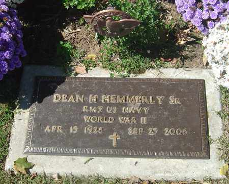HEMMERLY SR, DEAN H - Franklin County, Ohio | DEAN H HEMMERLY SR - Ohio Gravestone Photos