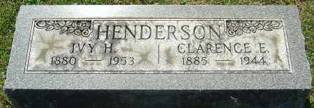 HENDERSON, IVY H - Franklin County, Ohio | IVY H HENDERSON - Ohio Gravestone Photos