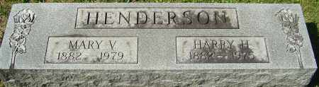 HENDERSON, HARRY H - Franklin County, Ohio | HARRY H HENDERSON - Ohio Gravestone Photos