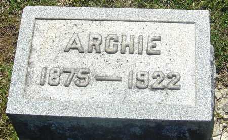 HENDRICKSON, ARCHIE - Franklin County, Ohio | ARCHIE HENDRICKSON - Ohio Gravestone Photos