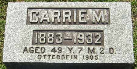 HENDRICKSON, CARRIE M - Franklin County, Ohio | CARRIE M HENDRICKSON - Ohio Gravestone Photos