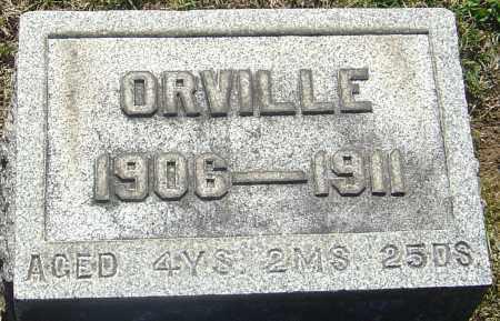 HENDRICKSON, ORVILLE - Franklin County, Ohio | ORVILLE HENDRICKSON - Ohio Gravestone Photos