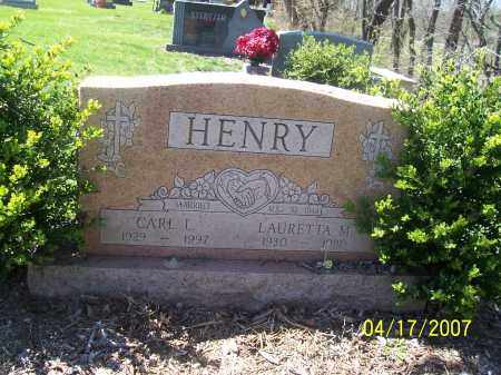 DONNELY HENRY, LAURETTA M - Franklin County, Ohio | LAURETTA M DONNELY HENRY - Ohio Gravestone Photos