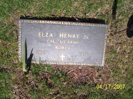 HENRY, ELZA JR - Franklin County, Ohio | ELZA JR HENRY - Ohio Gravestone Photos