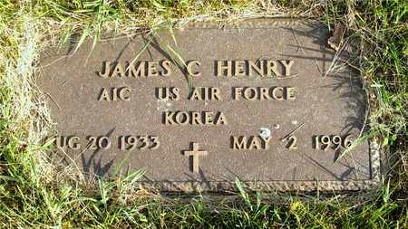 HENRY, JAMES C. - Franklin County, Ohio | JAMES C. HENRY - Ohio Gravestone Photos