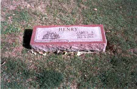 HENRY, JAMES A. - Franklin County, Ohio | JAMES A. HENRY - Ohio Gravestone Photos