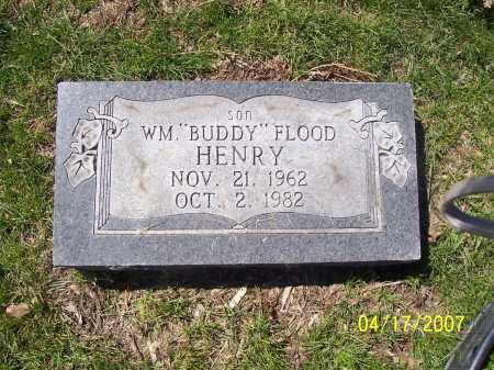 HENRY, WILLIAM FLOOD (BUDDY) - Franklin County, Ohio | WILLIAM FLOOD (BUDDY) HENRY - Ohio Gravestone Photos