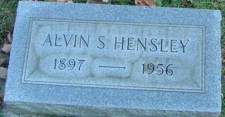 HENSLEY, ALVIN S - Franklin County, Ohio | ALVIN S HENSLEY - Ohio Gravestone Photos