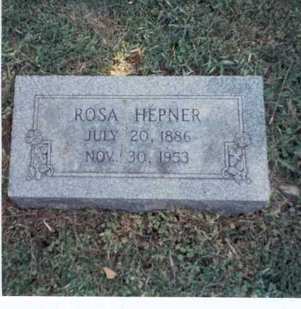HEPNER, ROSA - Franklin County, Ohio | ROSA HEPNER - Ohio Gravestone Photos