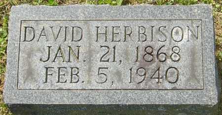 HERBISON, DAVID - Franklin County, Ohio   DAVID HERBISON - Ohio Gravestone Photos