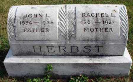 HERBST, JOHN L. - Franklin County, Ohio | JOHN L. HERBST - Ohio Gravestone Photos