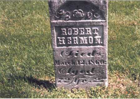 HERMON, ROBERT - Franklin County, Ohio | ROBERT HERMON - Ohio Gravestone Photos
