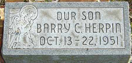 HERPIN, BARRY C - Franklin County, Ohio | BARRY C HERPIN - Ohio Gravestone Photos