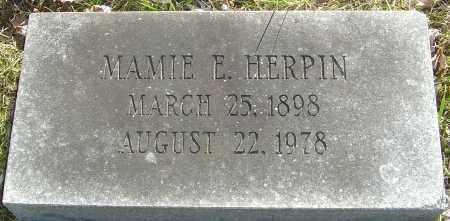 HERPIN, MAMIE E - Franklin County, Ohio | MAMIE E HERPIN - Ohio Gravestone Photos