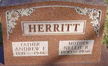 HERRITT, NELLIE R - Franklin County, Ohio | NELLIE R HERRITT - Ohio Gravestone Photos