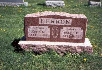 HERRON, HOMER E. - Franklin County, Ohio | HOMER E. HERRON - Ohio Gravestone Photos