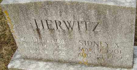 HERWITZ, SIDNEY X - Franklin County, Ohio | SIDNEY X HERWITZ - Ohio Gravestone Photos