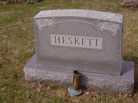 HESKETT FAMILY, MONUMENT - Franklin County, Ohio | MONUMENT HESKETT FAMILY - Ohio Gravestone Photos