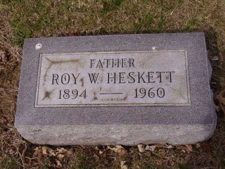 HESKETT, ROY W. - Franklin County, Ohio | ROY W. HESKETT - Ohio Gravestone Photos