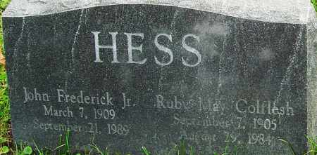 HESS, RUBY - Franklin County, Ohio | RUBY HESS - Ohio Gravestone Photos