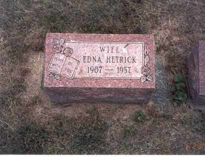 HETRICK, EDNA - Franklin County, Ohio | EDNA HETRICK - Ohio Gravestone Photos