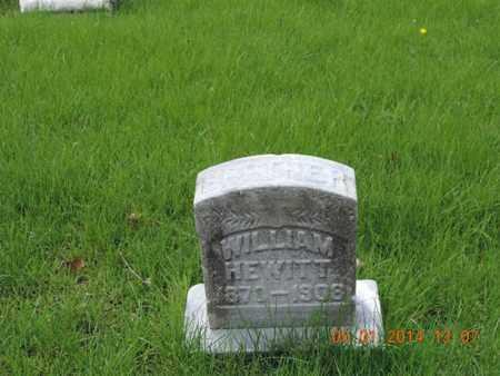 HEWITT, WILLIAM - Franklin County, Ohio | WILLIAM HEWITT - Ohio Gravestone Photos