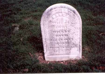 BEELER HICKLE, NANCY - Franklin County, Ohio | NANCY BEELER HICKLE - Ohio Gravestone Photos