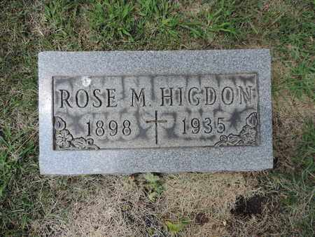 HIGDON, ROSE M. - Franklin County, Ohio | ROSE M. HIGDON - Ohio Gravestone Photos