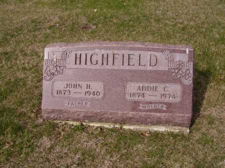 HIGHFIELD, JOHN H. - Franklin County, Ohio | JOHN H. HIGHFIELD - Ohio Gravestone Photos