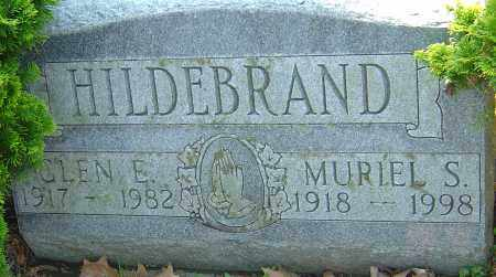 HILDEBRAND, GLEN E - Franklin County, Ohio | GLEN E HILDEBRAND - Ohio Gravestone Photos