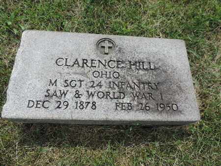 HILL, CLARENCE - Franklin County, Ohio | CLARENCE HILL - Ohio Gravestone Photos