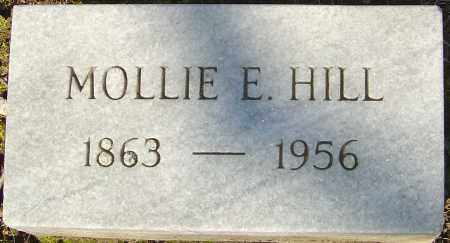 HILL, MOLLIE E - Franklin County, Ohio | MOLLIE E HILL - Ohio Gravestone Photos