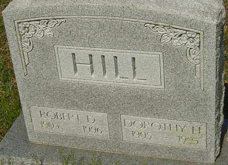 HILL, ROBERT D - Franklin County, Ohio | ROBERT D HILL - Ohio Gravestone Photos