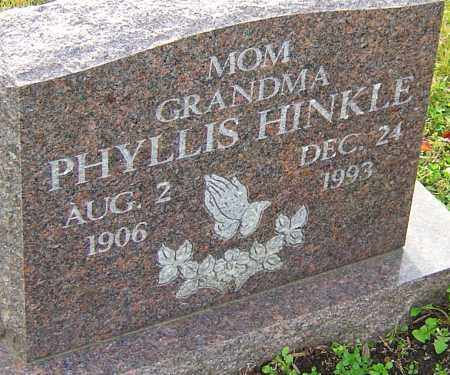 HINKLE, PHYLLIS - Franklin County, Ohio | PHYLLIS HINKLE - Ohio Gravestone Photos