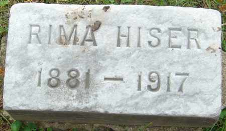 HISER, RIMA - Franklin County, Ohio | RIMA HISER - Ohio Gravestone Photos