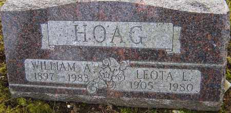 HOAG, LEOTA - Franklin County, Ohio | LEOTA HOAG - Ohio Gravestone Photos