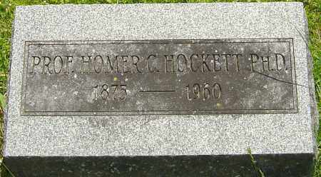 HOCKETT, HOMER C - Franklin County, Ohio | HOMER C HOCKETT - Ohio Gravestone Photos