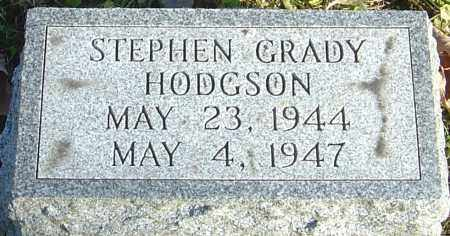 HODGSON, STEPHEN GRADY - Franklin County, Ohio | STEPHEN GRADY HODGSON - Ohio Gravestone Photos