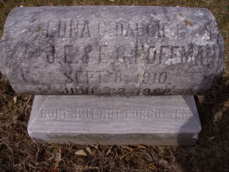 HOFFMAN, LONA G.- FIRST VIEW - Franklin County, Ohio | LONA G.- FIRST VIEW HOFFMAN - Ohio Gravestone Photos