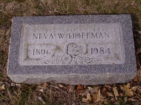HOFFMAN, NEVA W. - Franklin County, Ohio | NEVA W. HOFFMAN - Ohio Gravestone Photos