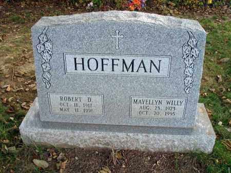 HOFFMAN, ROBERT D. - Franklin County, Ohio | ROBERT D. HOFFMAN - Ohio Gravestone Photos