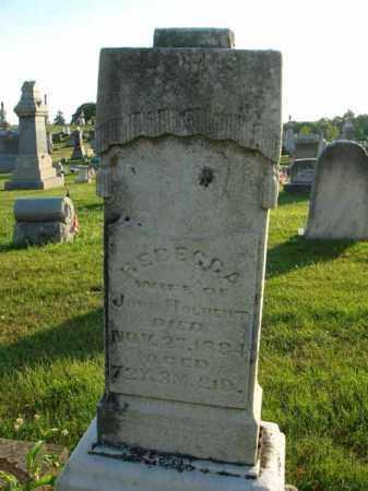HOLBERT, REBECCA - Franklin County, Ohio | REBECCA HOLBERT - Ohio Gravestone Photos