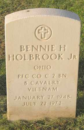 HOLBROOK, BENNIE H. - Franklin County, Ohio | BENNIE H. HOLBROOK - Ohio Gravestone Photos