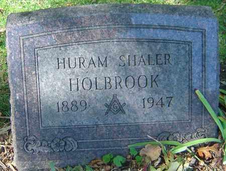 HOLBROOK, HURAM SHALER - Franklin County, Ohio | HURAM SHALER HOLBROOK - Ohio Gravestone Photos